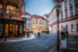 улочка в Праге, красиво, Прага, Чехия, туризм