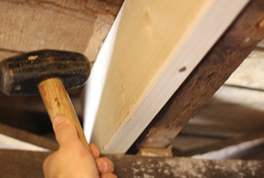 Sistering the Joists