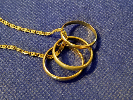 """Three Gold Rings: """"Yes, I Do, I Will"""""""