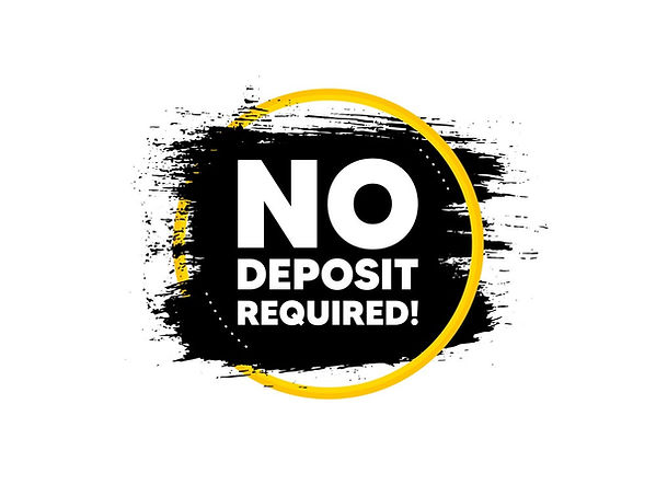 no-deposit-required-promo-offer-sign-vec