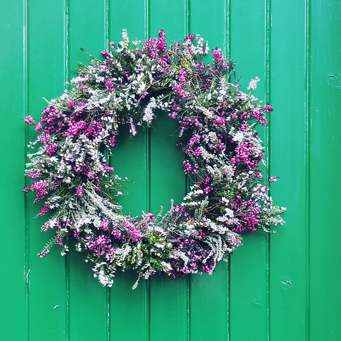 Scottish Heather Wreath