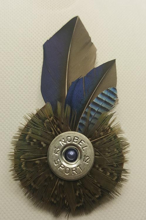 3 bird hat or jacket pin