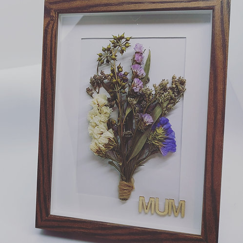 Dried Flower Frame mothers day birthday