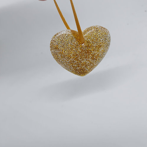 Gold Heart Bauble