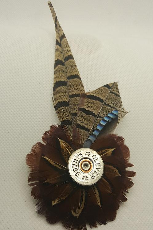 Pheasant & Jay Brooch/ Hat Pin