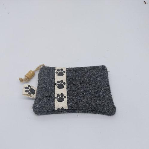 Posh poo bag holder or coin purse
