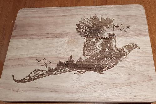 Pheasant Chopping Board or Cheese Board