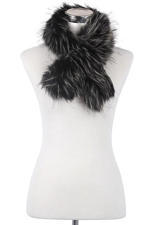 Faux Fur Collar Scarf