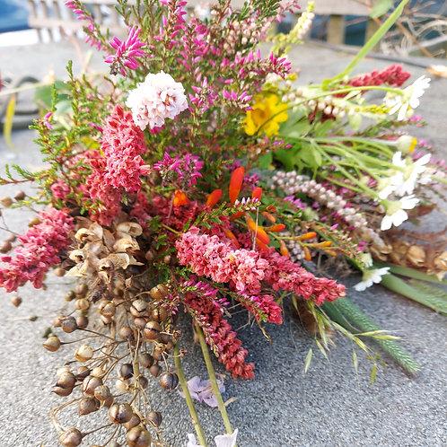 Dried wreath kit/ online tutorial