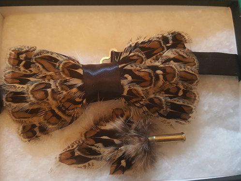Bowtie gift set hen pheasant