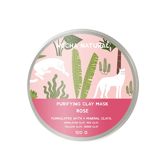 Purifying Clay Mask Rose