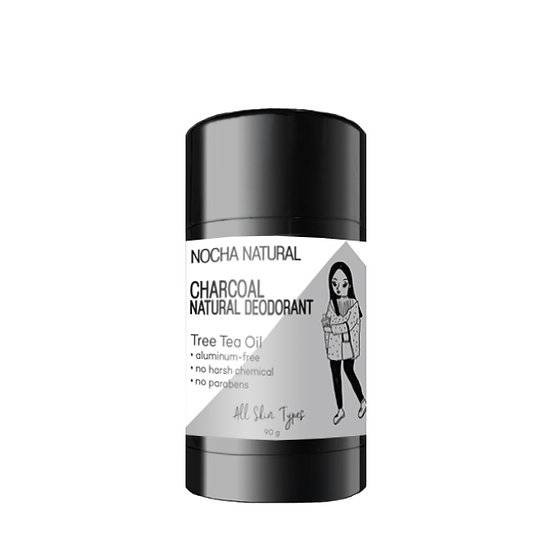 Charcoal Natural Deodorant