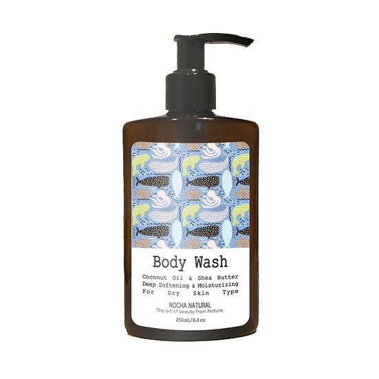 Nocha Coconut Oil Shea Butter Body Wash