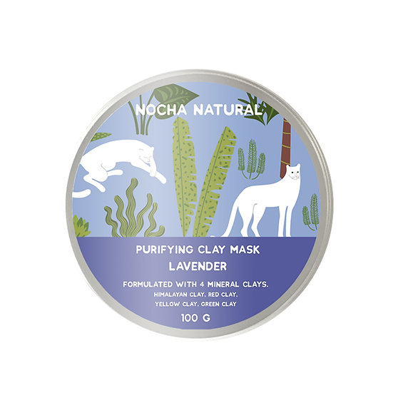 Purifying Clay Mask Lavender