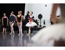 Tilinski in rehearsal