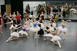 Nashville Ballet rehearsal