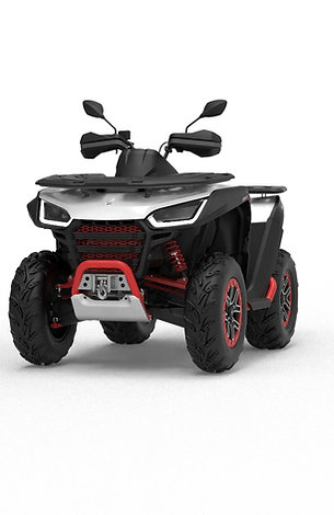 ATV Snarler 600GS - White/Red T3b