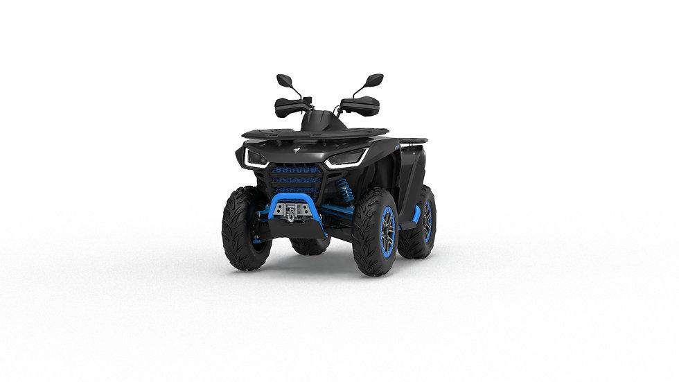 ATV Snarler 600GS -Silver/Blue T3b