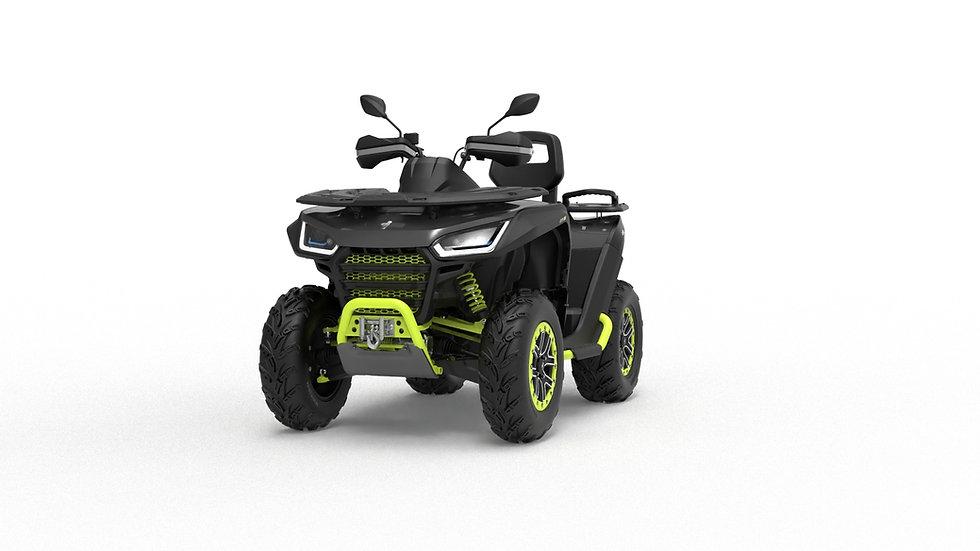 ATV Snarler 600GL - Black/Yellow T3b