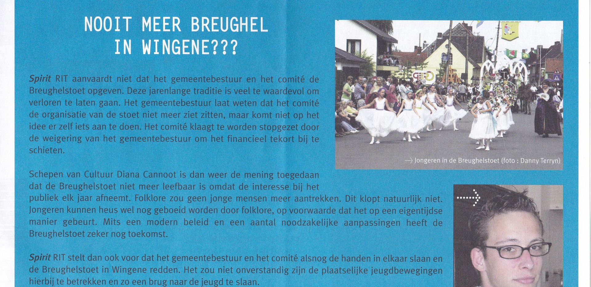 Folder Spirit _Nooit meer Bruegel in Win