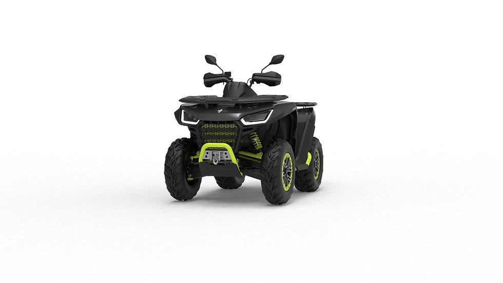ATV Snarler 600GS - Black/Yellow T3b