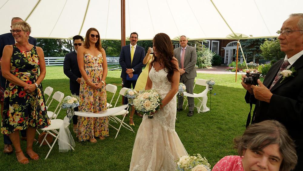 Meredith NH wedding photographer