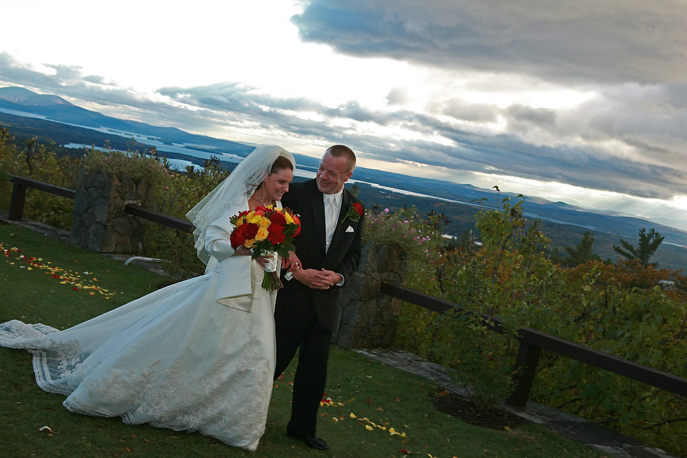 Castle In the Clouds wedding photographer