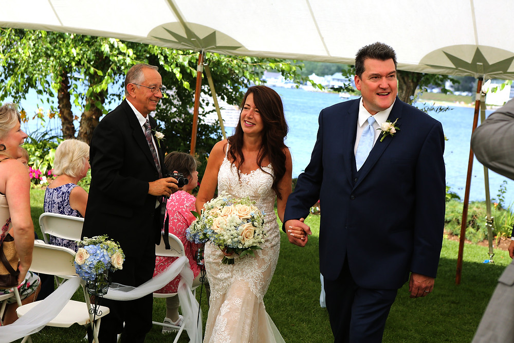 Church landing weddings