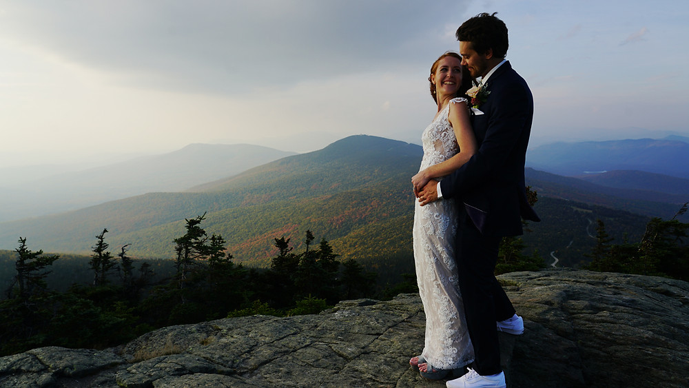 Killington vermont wedding photographer