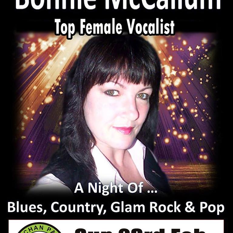 Top Female Vocalist Bonnie McCallum
