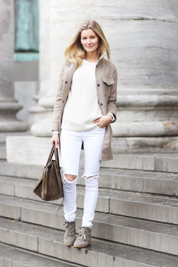 Répéter une couleur neutre  |  Éviter le fashion faux-pas