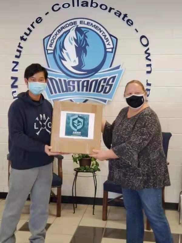 500 Masks Donated to the students of Rockbridge ES
