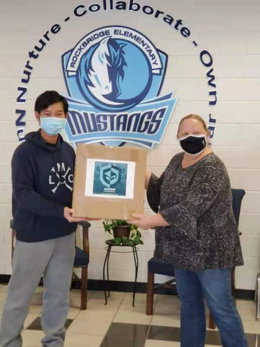 500 Masks Donated to the students of Rockbridge ES