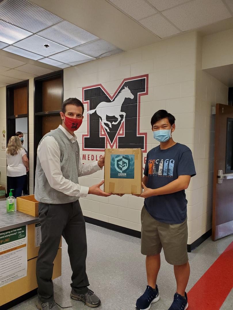 500 Mask Donation