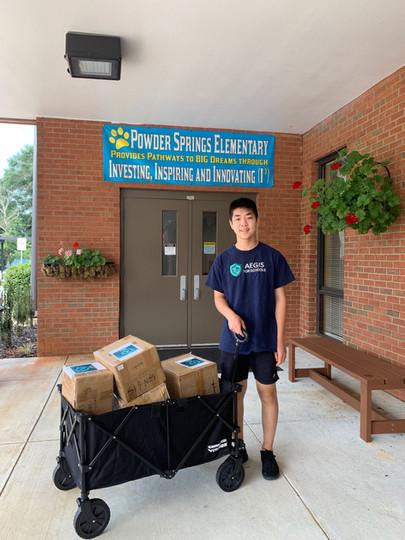 Powder Springs Donation