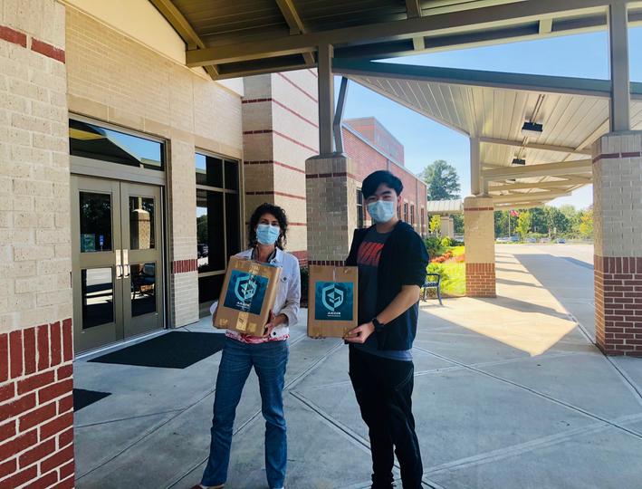 500 Mask Donation to Baldwin ES
