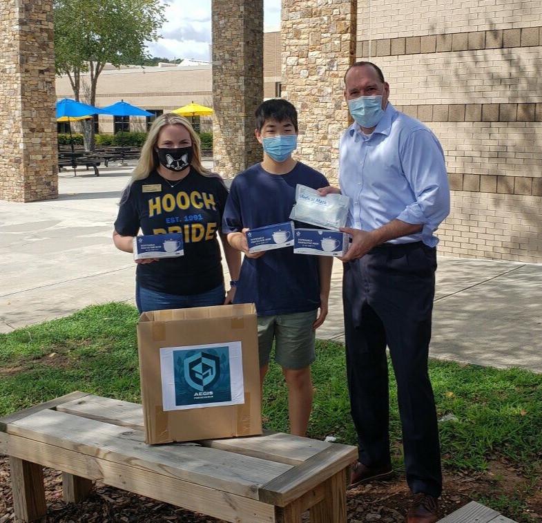 600 Mask Donation