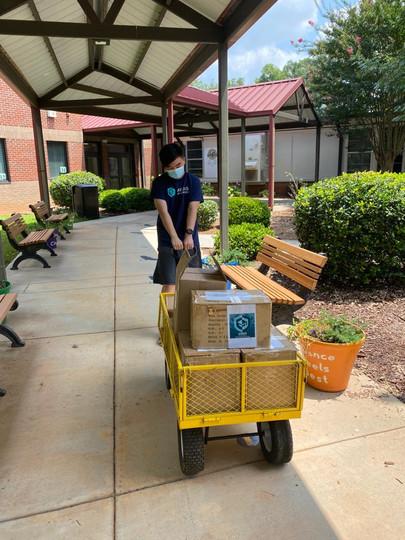 Delivering to Fair Oaks ES