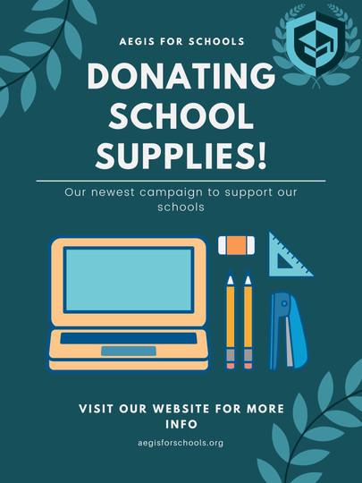School Supplies Welcome Back School Post