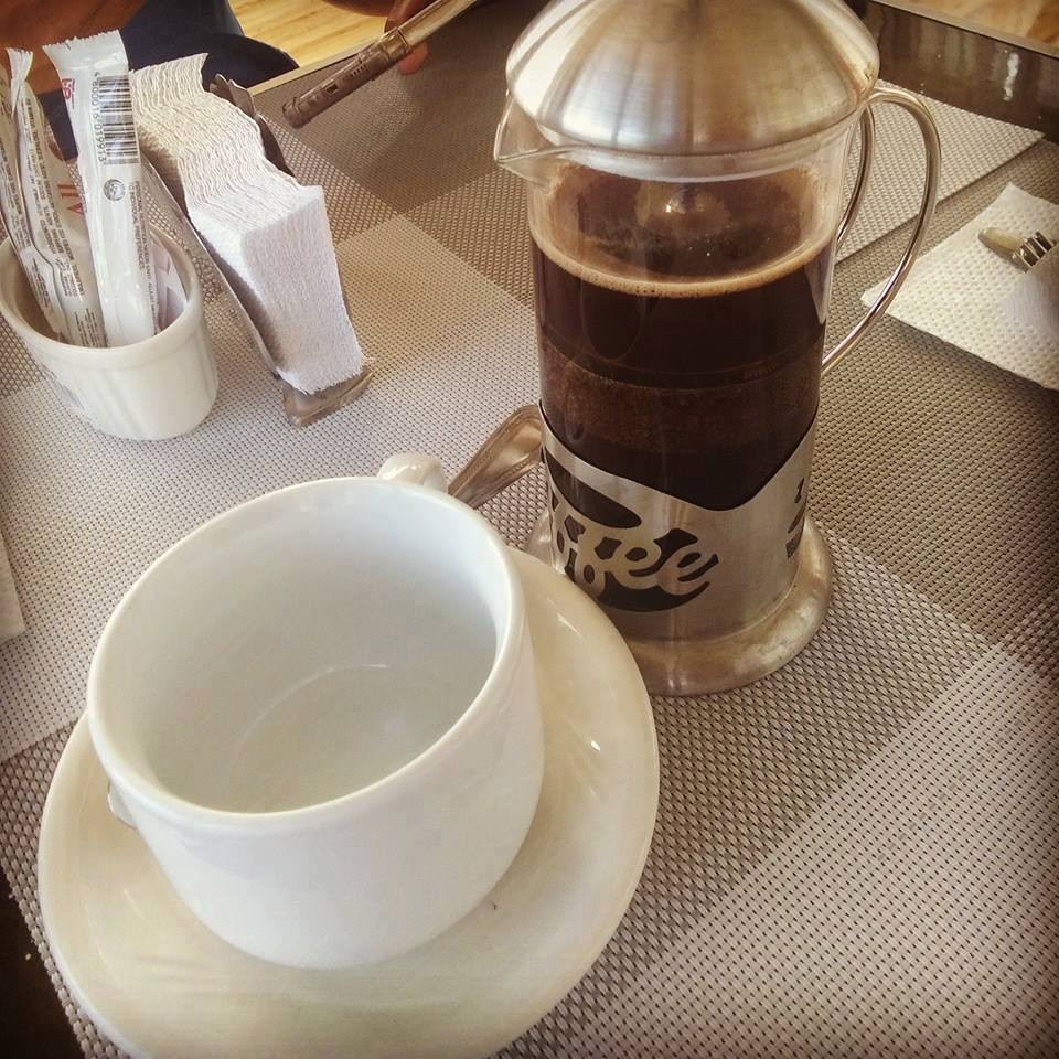 Urban Cafe is the name of the new coffee house in Calapan.  French Press Coffee