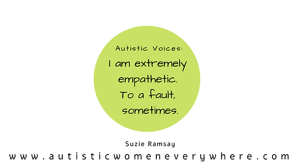 Autism Quotes by Autistic Women. Autism made clear by Autistic Individuals.