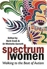 Books by Autistic Authors - Spectrum Women - Walking to the Beat of Autism. Edited by Barb Cook & Dr Michelle Garnett.