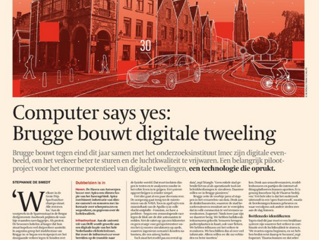 """Computer says """"Yes!"""" - Bruges is building its digital twin"""