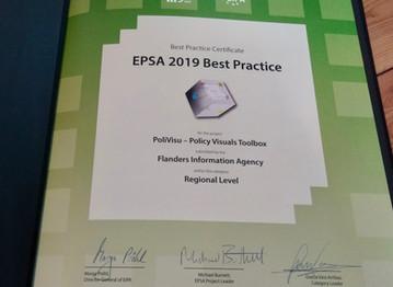 It's official: PoliVisu now a best practice driving public sector reform