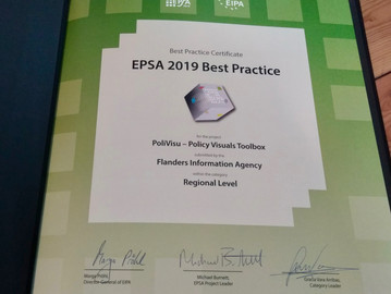 It's official: PoliVisu now a best practice driving public sector reform