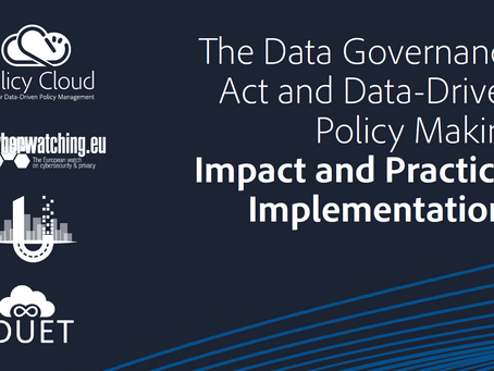 Report summarising key insights and recommendations from Data Governance Act webinar now available
