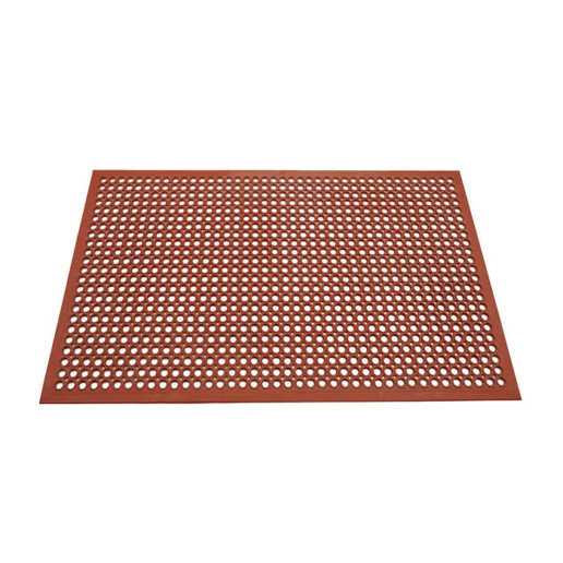 SAFETY FLO RED 3x5 MAT
