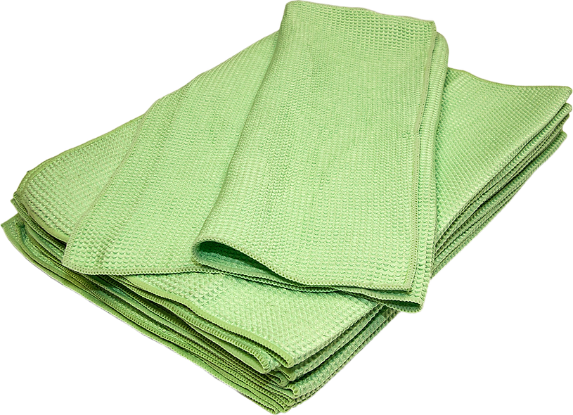 GLASS CLEANER TOWELS