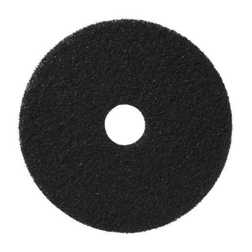 20'' BLACK STRIPPING PAD (WET)