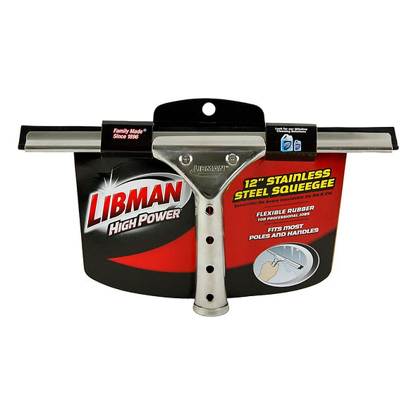 12'' STAINLESS STEEL SQUEEGEE